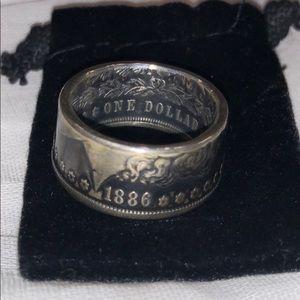 Army Coin Metal Ring | Men's Sz 10